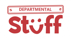 """Illustration with the words """"Departmental Stuff"""""""